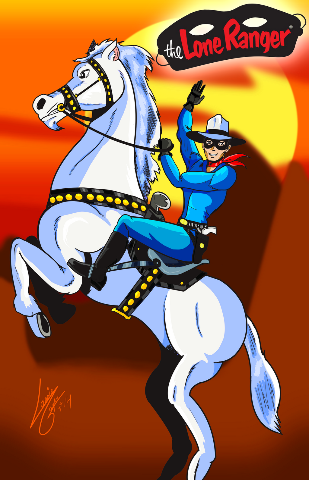 The Lone Ranger by Lonzo1