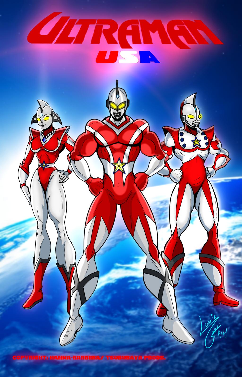 Ultraman U.S.A. by Lonzo1