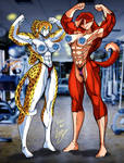 Lycan Ultimate Muscle Showdown. by Lonzo1