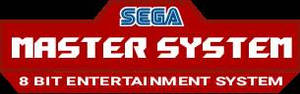 Sega Master System Logo V2