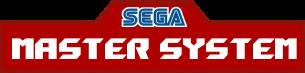 Sega Master System Logo V2 (without bottom text)
