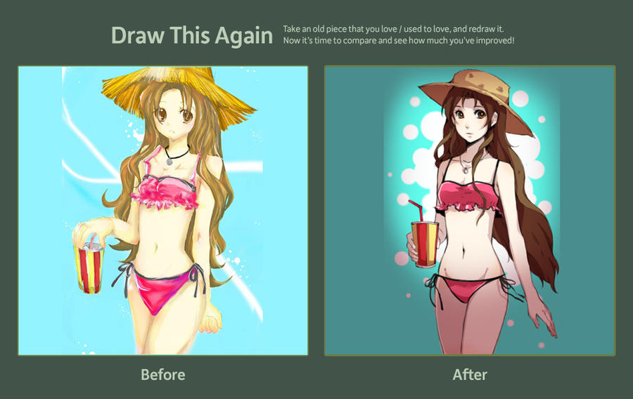Draw This Again :: Bikini by lehannaa
