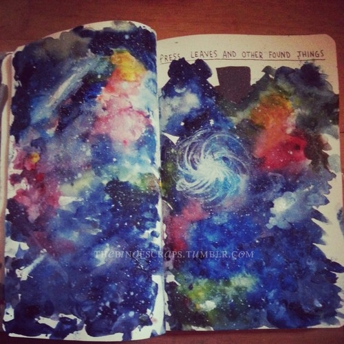 Wreck This Journal by Zazapyon