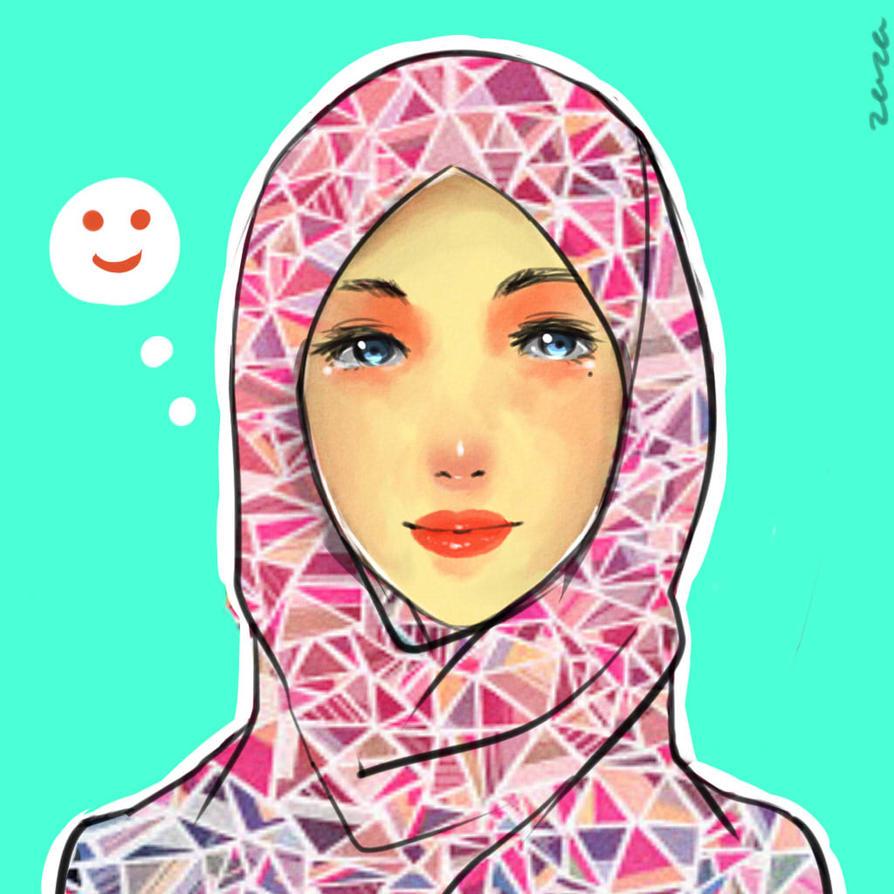 Hijabi by Zazapyon