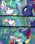 Luna and Celestia's first Hearth's warming by FeatherShine1