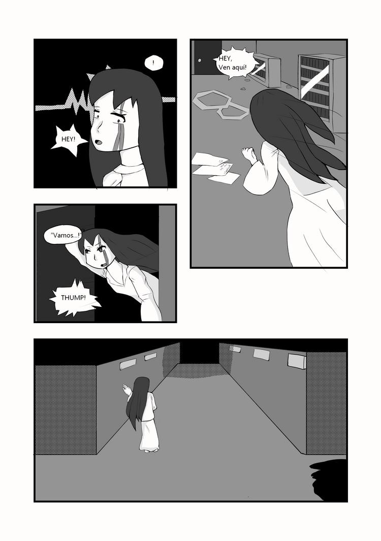CAP 1- War of Existance Fan comic. P-4 (ESP) by Bluzumara