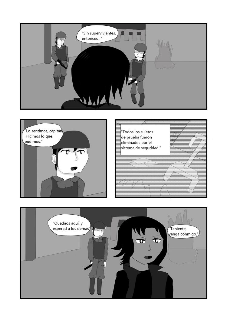 CAP 1- War of Existance Fan comic. P-6 (ESP) by Bluzumara