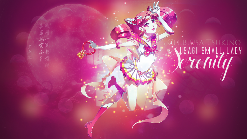 Chibiusa wallpaper by chiccaherbana