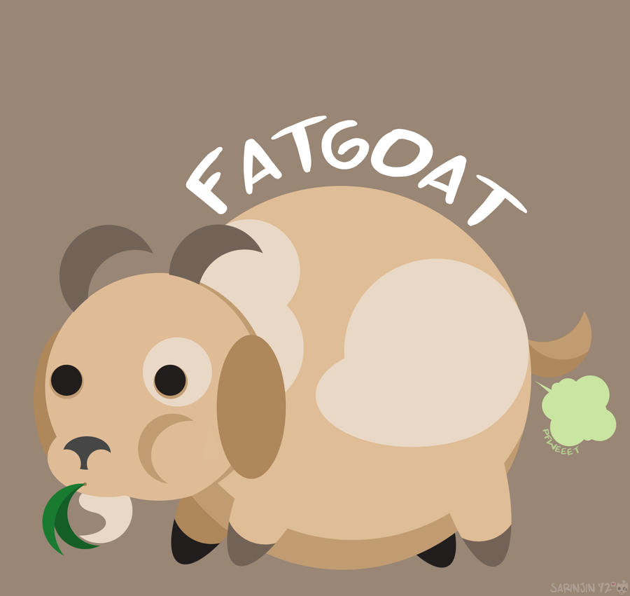 TheFatGoat by Sarinjin