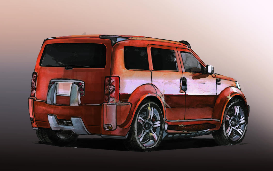 piece tuning dodge nitro