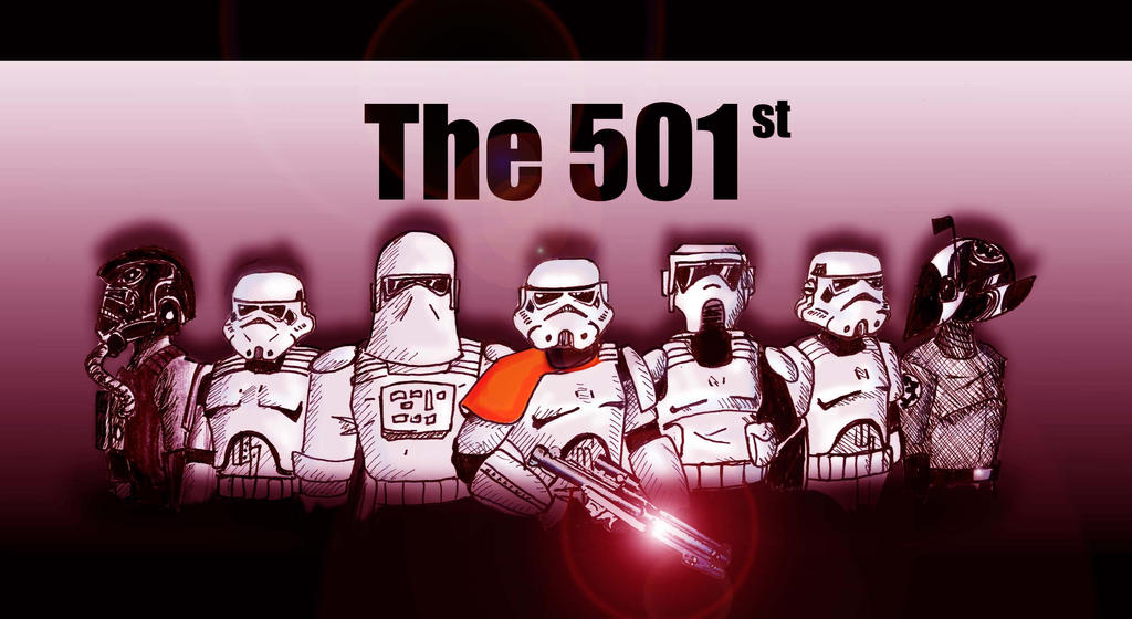 The 501st by The-Flying-Penguin