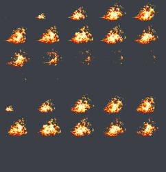 Flamethrower sheet