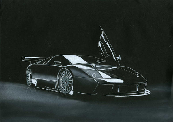 Lamborghini Murcielago by AndrewMooneyDesign
