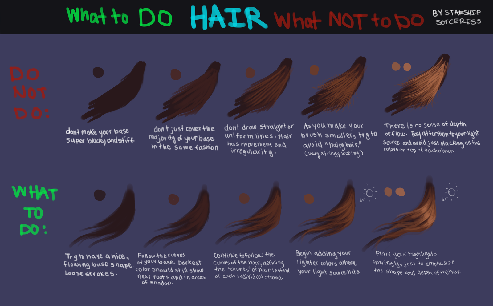 Hair: What to Do vs. What NOT to Do by StarshipSorceress ...