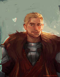 Cullen Sketch by StarshipSorceress