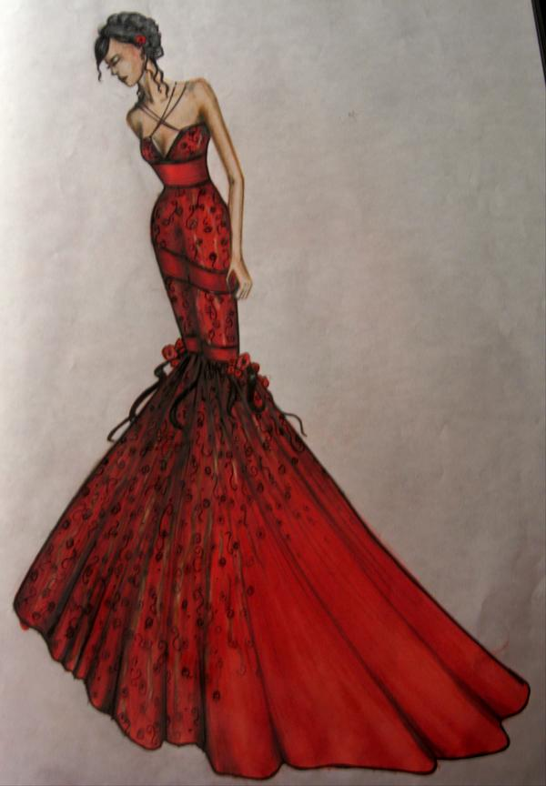 Fashion Design 2 Dress By Reaping My Heart Out On Deviantart