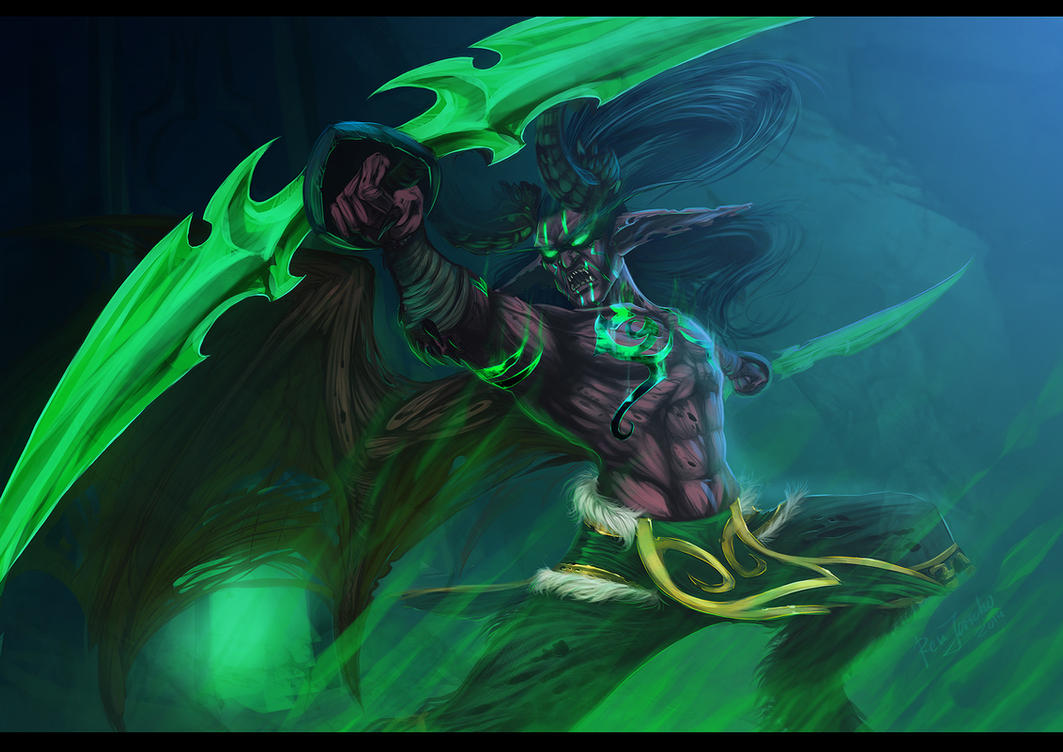 Illidan Stormrage by Rem-Jericho