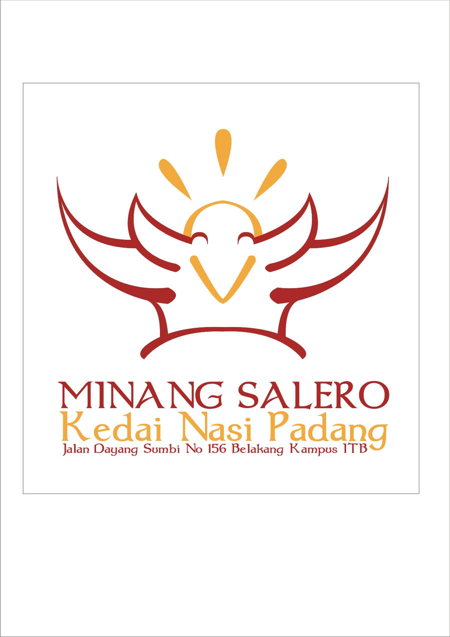 Logo Minang Salero Restaurant by justspectacle