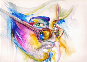 Watercolor Study: Jorge by lys2313