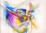 Watercolor Study: Jorge