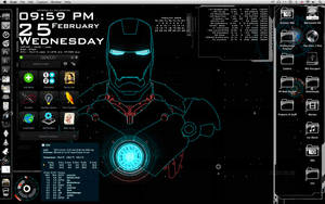 Stark Style Desktop Mark II by Geek-Chic