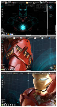 Stark Desktop Mark III by Geek-Chic