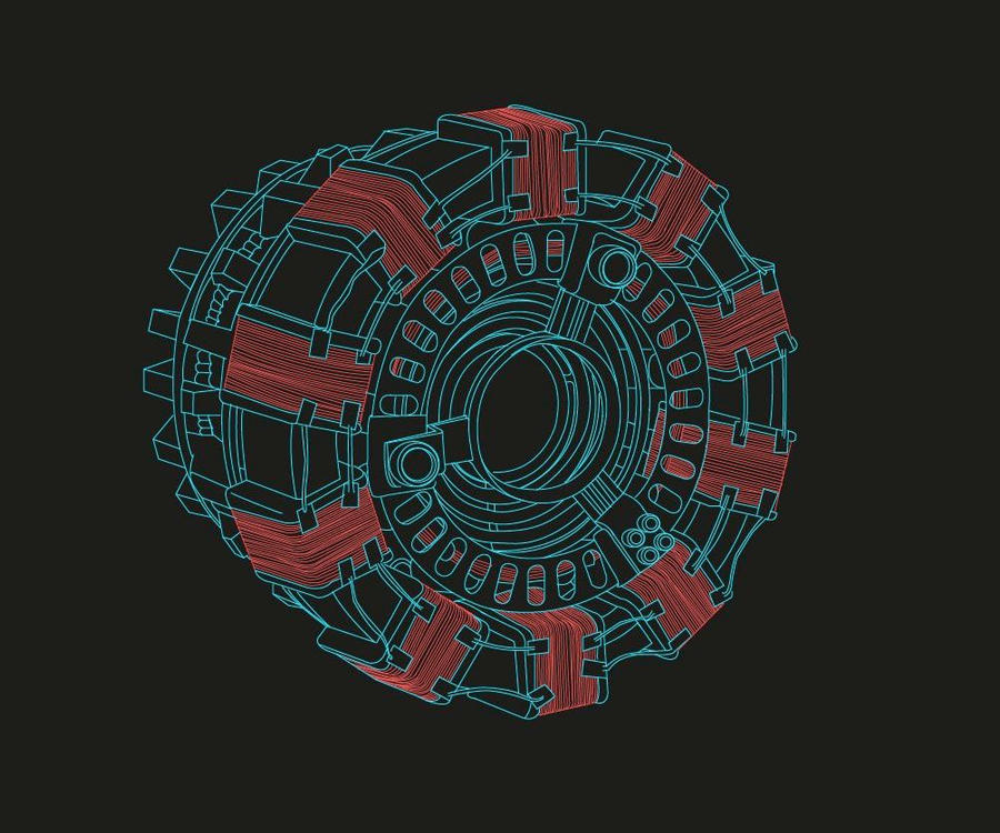 Arc reactor lines by geek chic on deviantart arc reactor lines by geek chic malvernweather Choice Image