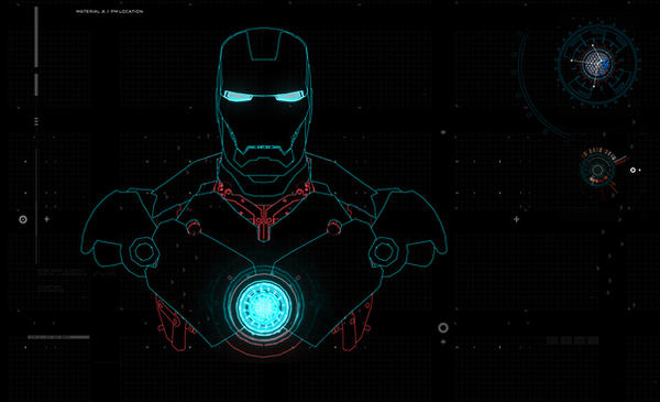 LG Iron Man Background by Geek-Chic