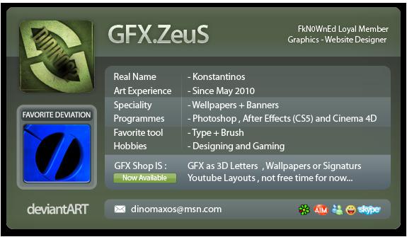 GFX-ZeuS's Profile Picture