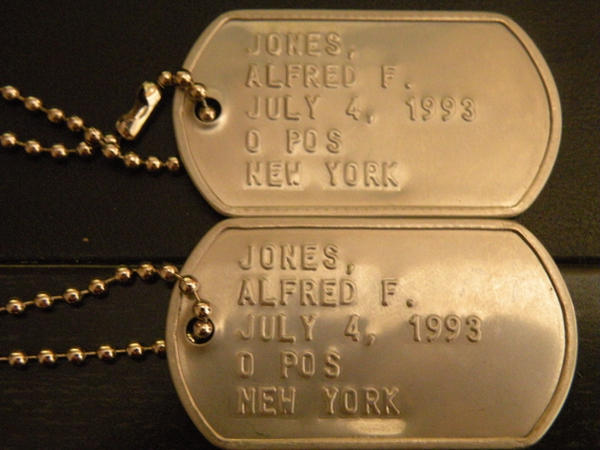 Alfred Jones Dog-Tags by Kateliana