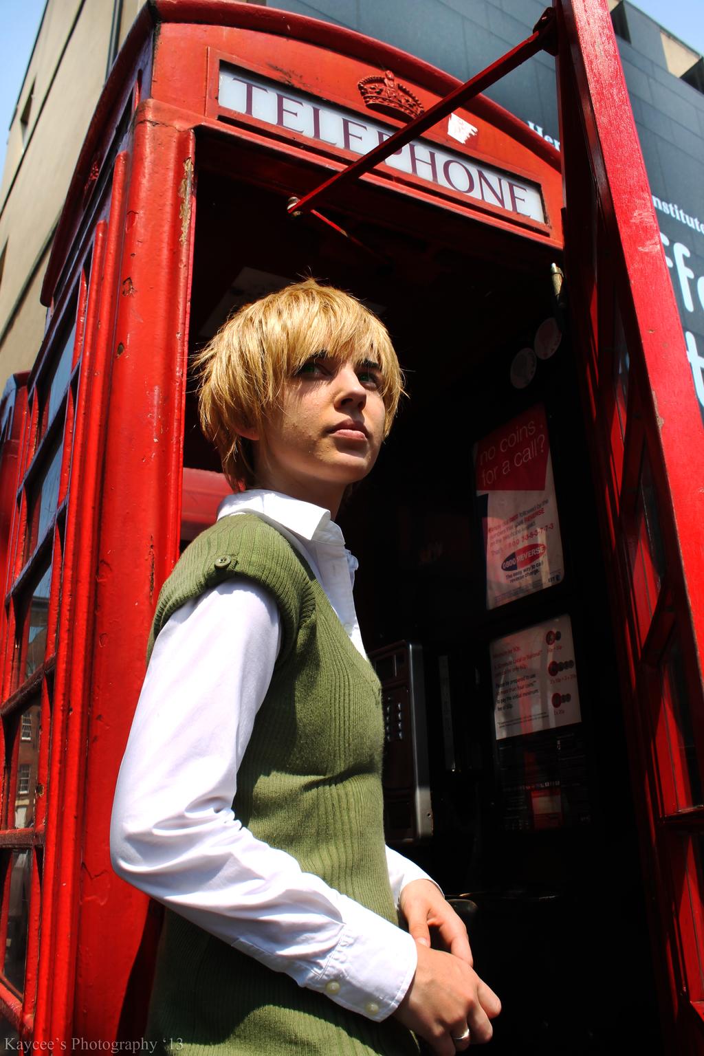 Summer in London by Kateliana