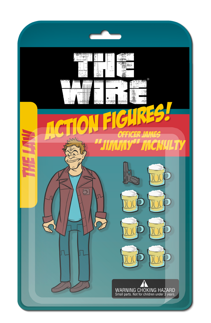 The Wire Action Figures by Jean--Franco on DeviantArt