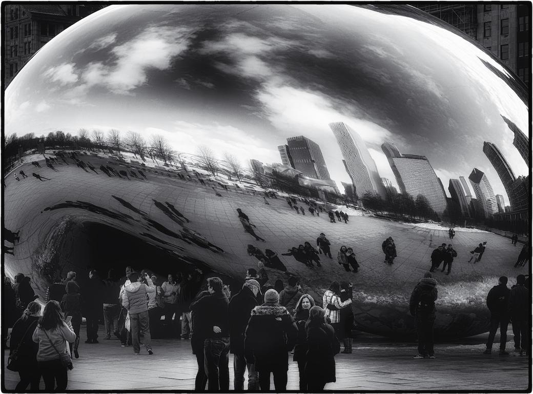 Cloud Gate ~ or 'the Bean' by tmfNeurodancer