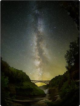Letchworth under the Milky Way