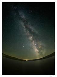 Milky Way over Hemlock Lake