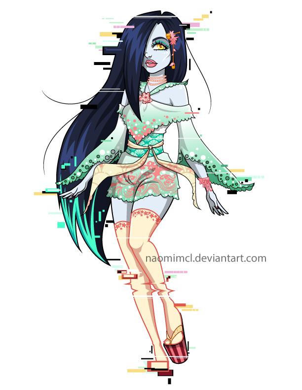 Sami Yamamura - Monster High Spirit by NaomiMcL