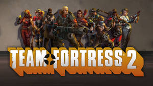 Team Fortress 2 Female Classes Group Wallpaper