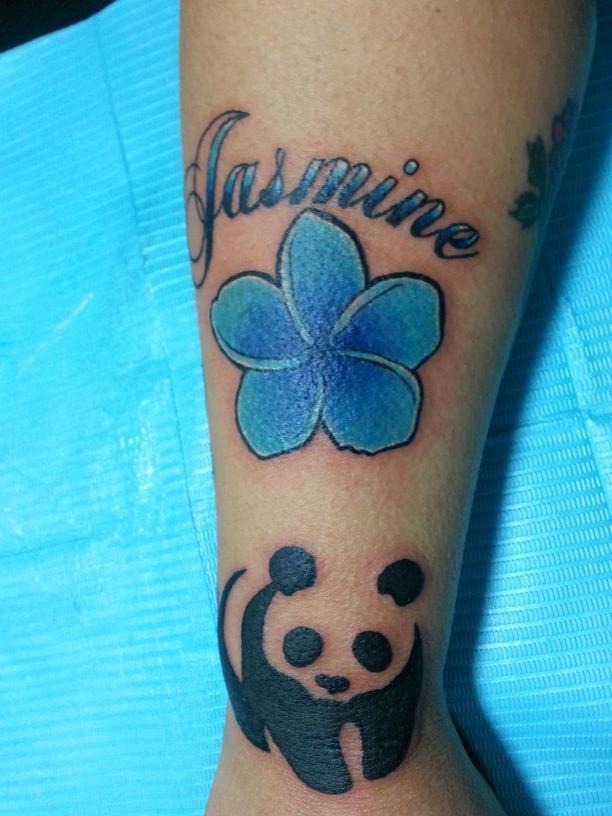 Jasmine Tattoo by