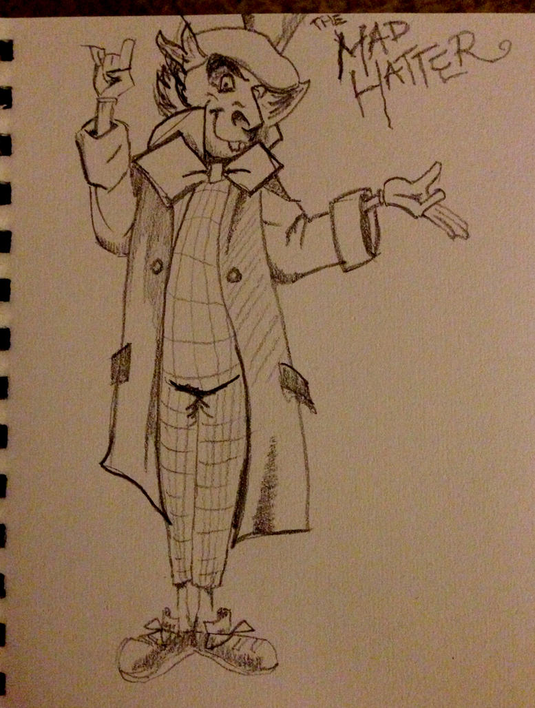 The Mad Hatter by drumfil