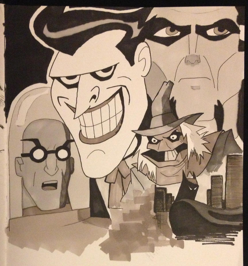Batman: The Animated Series by drumfil