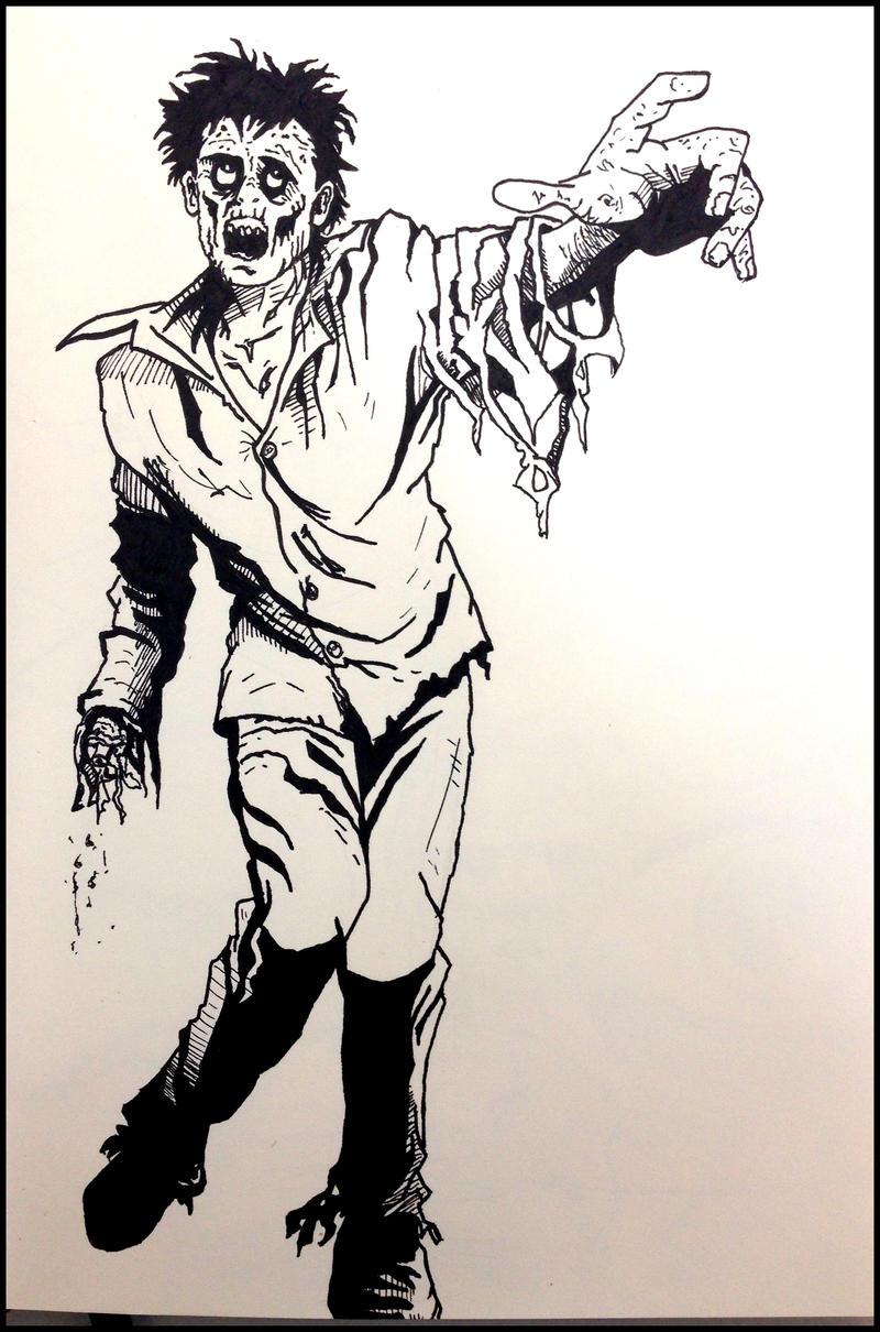 Zombie by drumfil