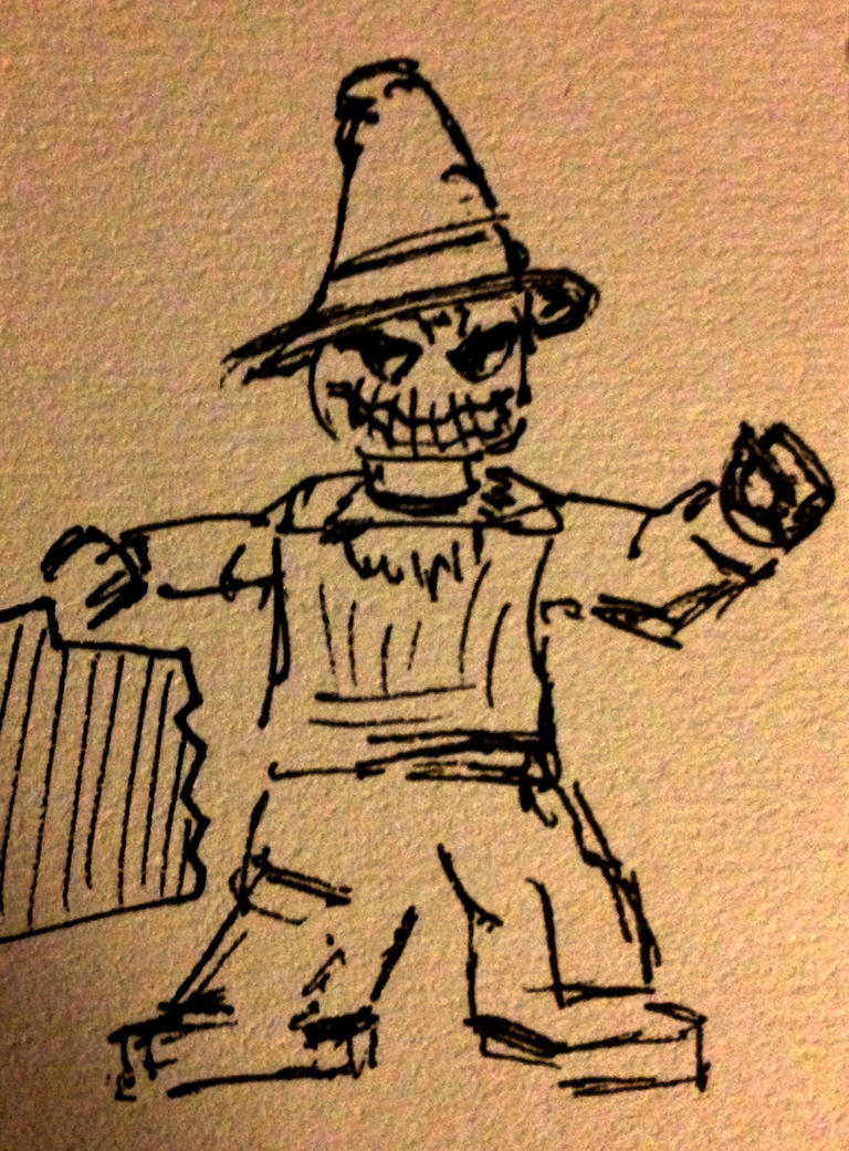 Lego Scarecrow by drumfil