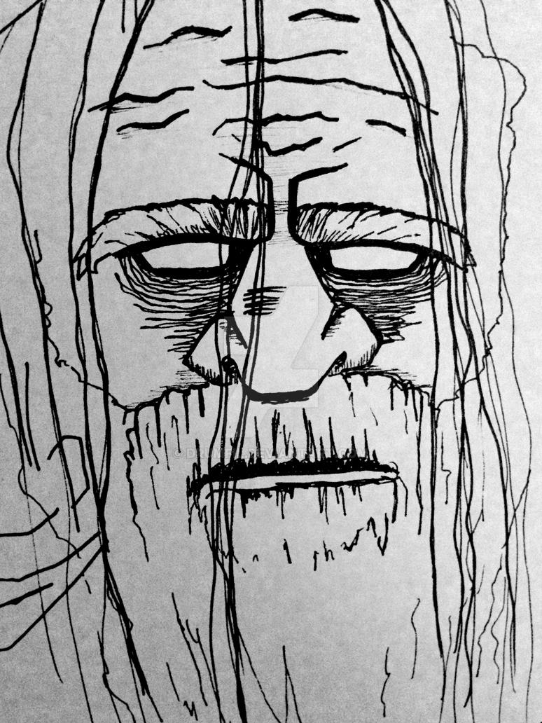Old Man, possibly blind by drumfil
