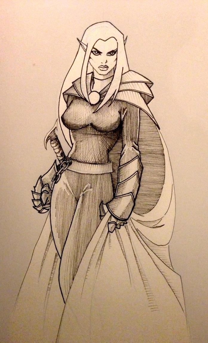Elf Princess by drumfil