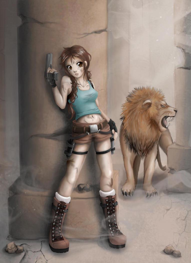 Lara Croft - Tomb Raider 1 by zwusel
