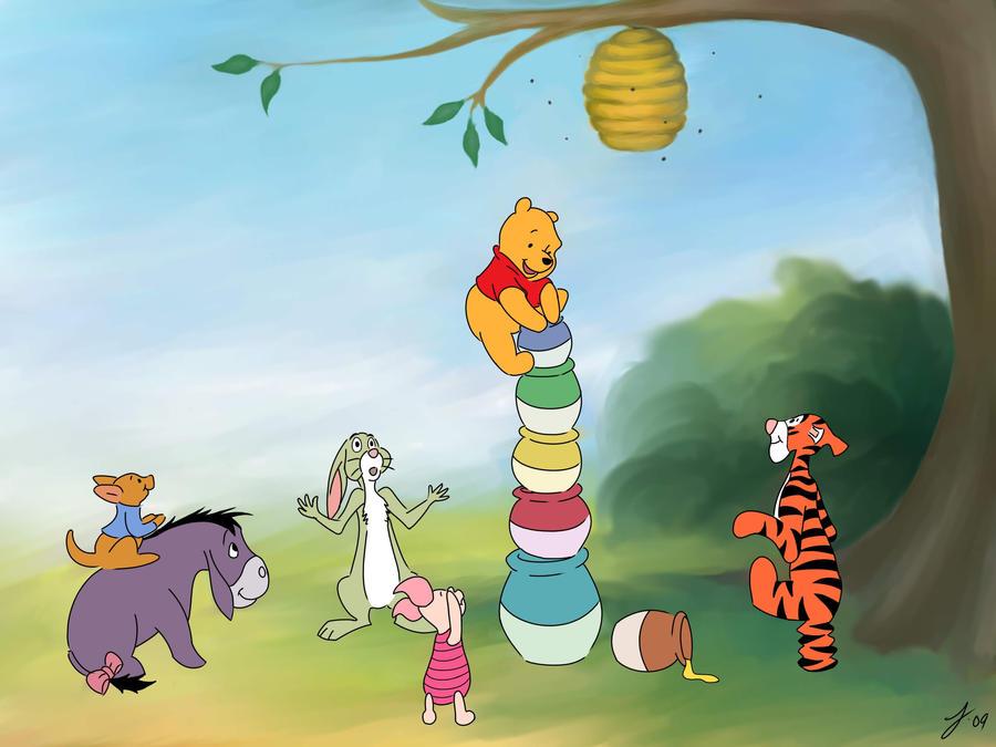 Winnie-the-pooh by DocJames