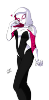 Spider-Gwen by PhinyxRose