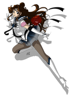 C: Sailor Charon by PhinyxRose