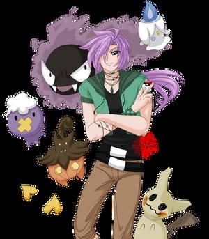 Mako's Ghost Poke'mon Trainer