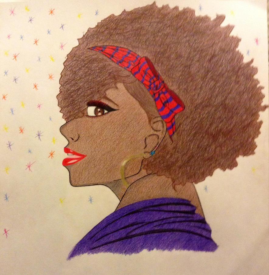 That funky girl by Gigglezalotz